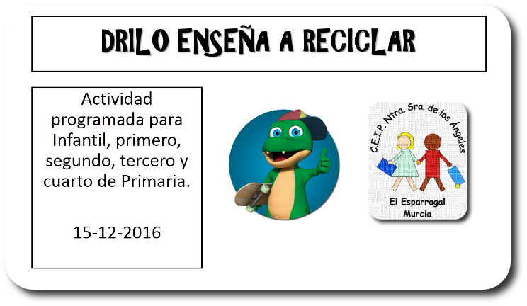 DRILO APRENDE A RECICLAR